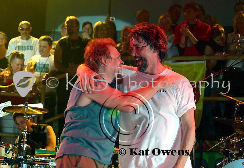 Mike and David, Tahoe, April 29, 2005.