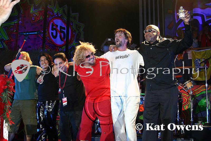 Mike, Mona, Gibby, Sammy, David and Vic, Tahoe, April 29, 2005.