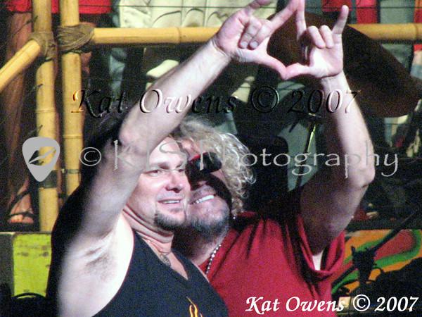 Michael Anthony & Sammy Hagar