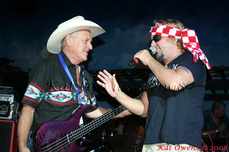 Bill Church & Sammy Hagar