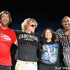 David Lauser, Sammy Hagar, Mona & Vic Johnson