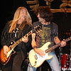 John Nymann & Stef Burns during Y&T's set