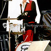 Slim Jim Phantom of Stray Cats, Mountain Aire Festival, Angels Camp, CA, June 4, 1983