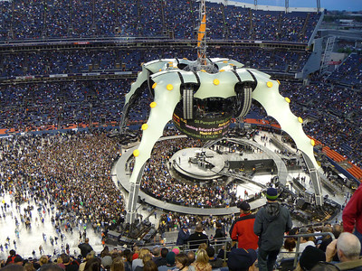 Prepping stage for U2