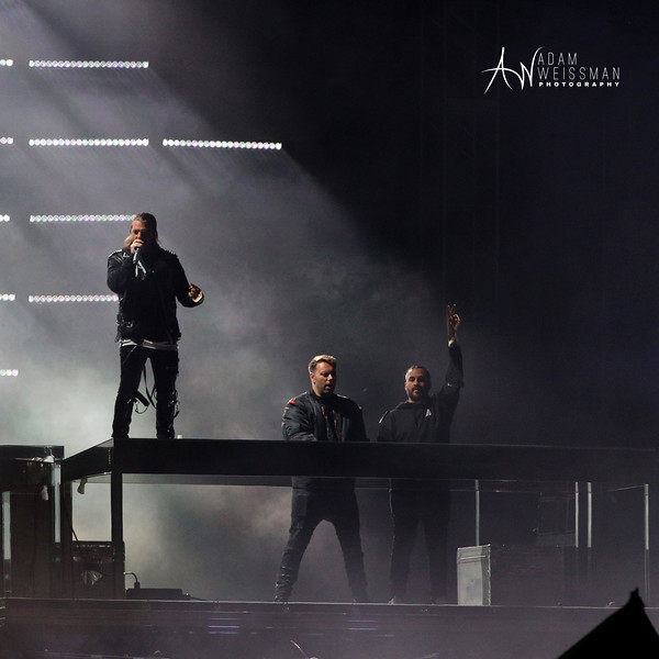 Swedish House Mafia Reunited During Ultra Surrounded by Flames