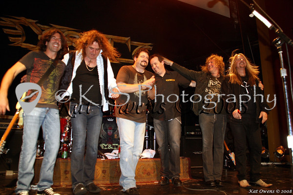 Stef, Phil, Mike, Chrys, Dave & John, what a show!