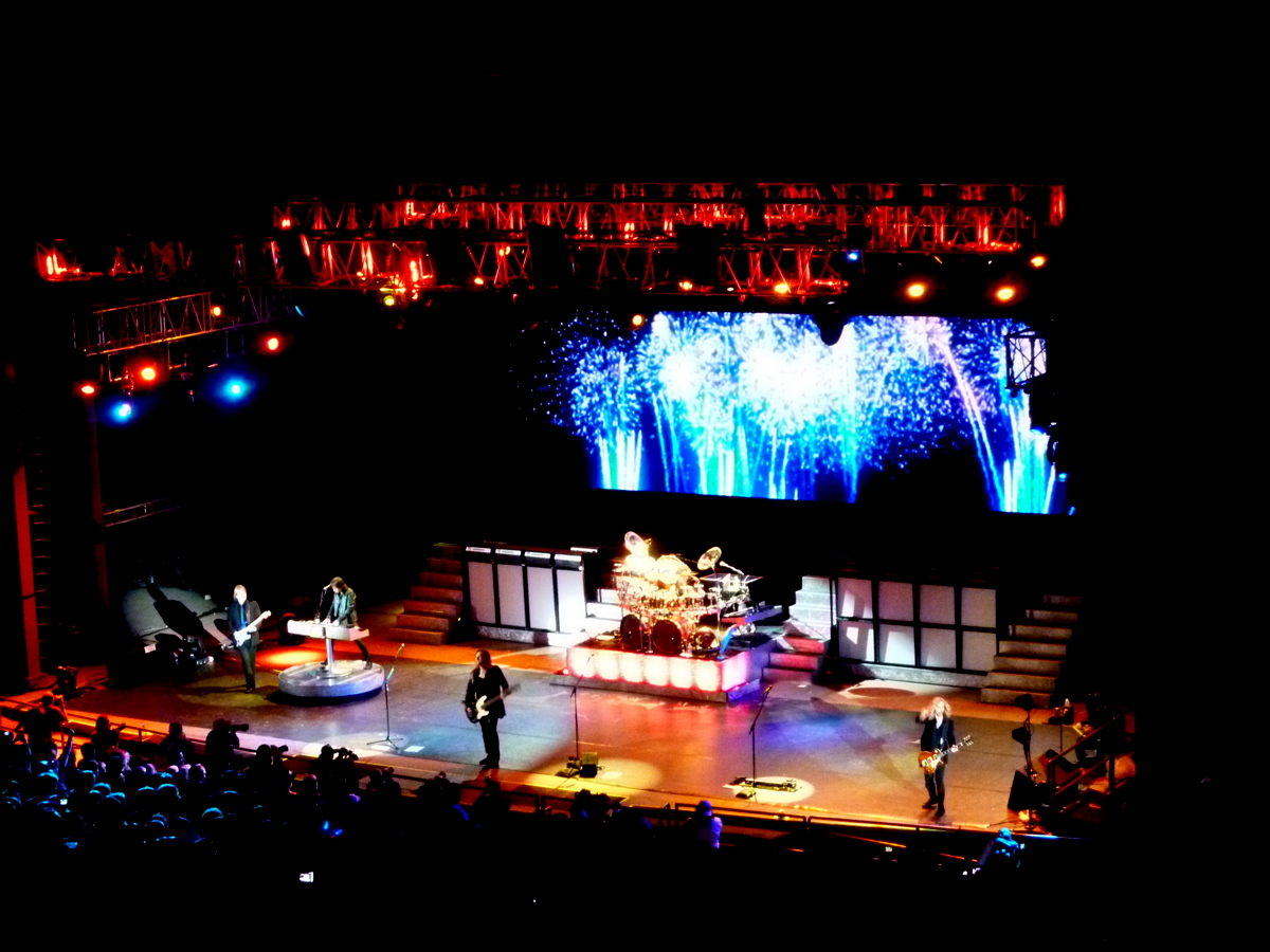 Styx takes the stage.