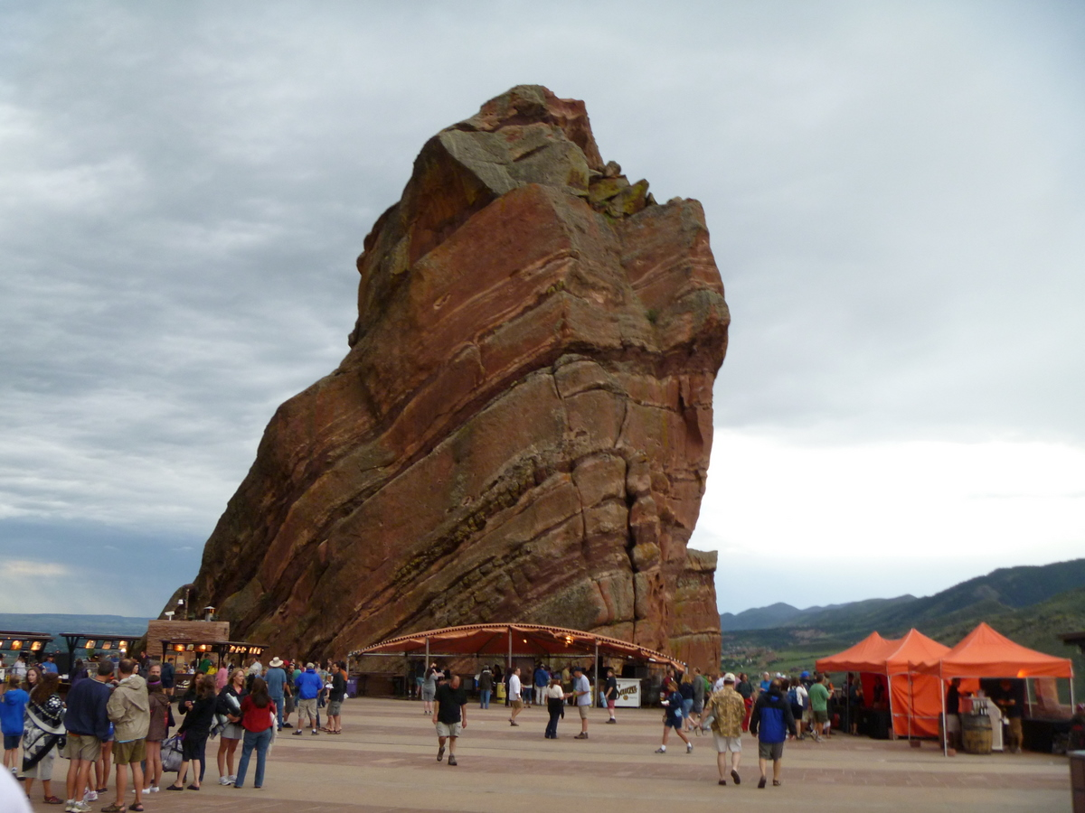 View at top area of Red Rocks.