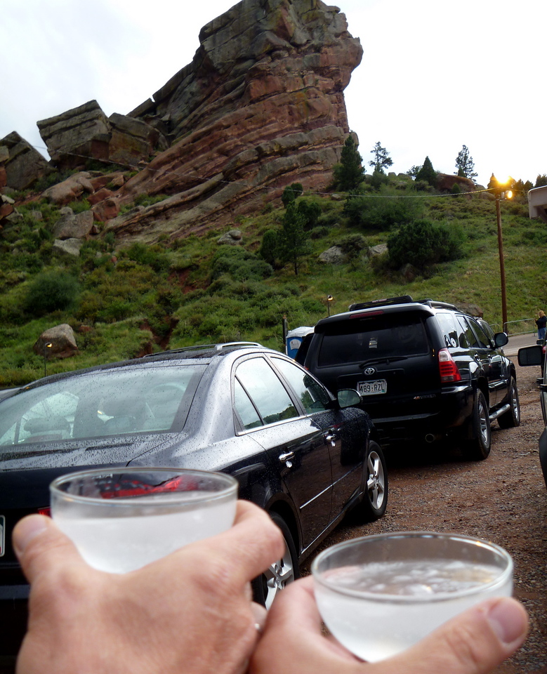 Cheers to The Red Rocks!