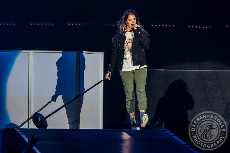 16-05-18 - Toronto  - Canadian pop superstar JUSTIN BIEBER brought his Purpose Tour to the Air Canada Centre.  Opening the show was POST MALONE and MOXIE RAIA.  Pictured: Moxie Raia.<br /> (c) 2016 - Darren Eagles Photography