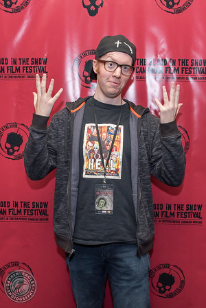 16-11-25 - Yonge Dundas Square Cineplex - Toronto - The midnight Toronto screening of Ryan LaPlante's epic feature, Holy Hell at the Blood in the Snow Canadian Film Festival. (c) 2016 - Darren Eagles Photography