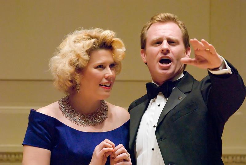 Caroline Worra, Soprano at Weill Hall at the Carnegie Hall Recital with Ryan McPherson, Tenor.