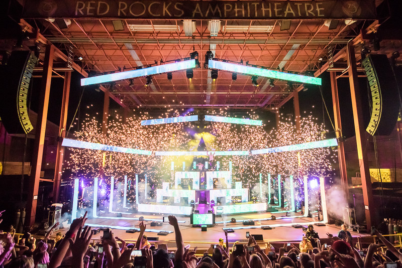 The Chainsmokers at Red Rocks Amphitheatre