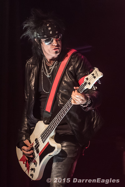 2015 - April 23  - Phoenix Concert Theatre - Sixx A.M. brought their killer headlining tour to the Phoenix in Toronto.  Opening the show was Swedish rockers, Apocalyptica.   Pictured: Sixx A.M. <br /> © 2015 Darren Eagles Photography