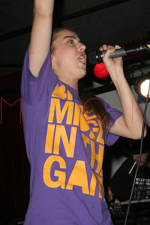 British Sensation, Lady Sovereign live in concert at Studio b in New York.