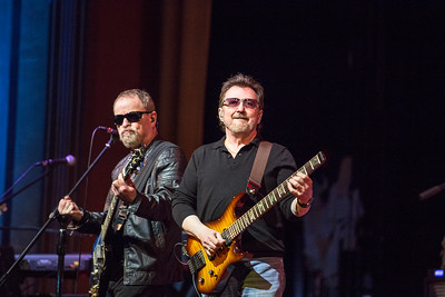 Eric Bloom and Buck Dharma  of Blue Oyster Cult at Suffolk Theater March 2018 Photo: John F. Sheehan Photography (www.jfsheehanphoto.com)