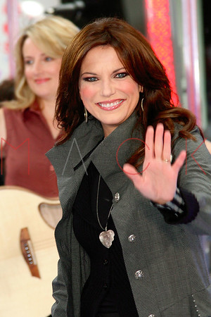 Martina McBride live in concert on NBC Today Show on the Plaza at Rockefeller Center in New York City