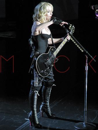 NEW YORK April 30: Madonna Hard Candy Comeback Tour at The Roseland Ballroom with Justin Timberlake.