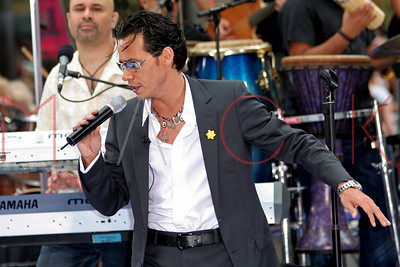 The NBC Today Show Concert with Marc Anthony.