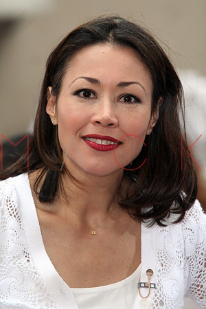 Ann Curry at The Toyota Concert Series on Today with Maroon 5 on the Plaza at Rockefeller Center in New York City.  <center>New York, NY May 28, 2007 Photo by ©Steve Mack