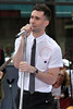 Adam Levine at The Toyota Concert Series on Today with Maroon 5 on the Plaza at Rockefeller Center in New York City.  <center>New York, NY May 28, 2007 Photo by ©Steve Mack