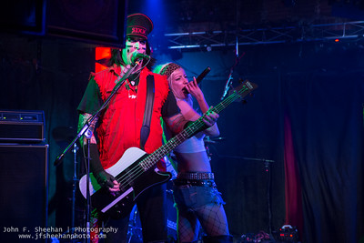 Crüecified on12/3/17 at Revolution Bar & Music Hall, Amityville, New York Photo: John F. Sheehan Photography (www.jfsheehanphoto.com)