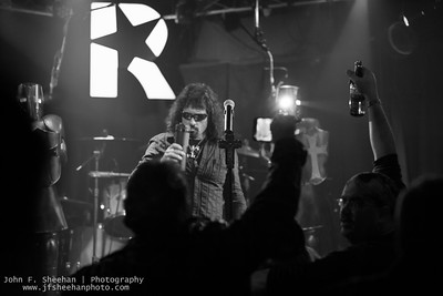 Neon Knights on12/3/17 at Revolution Bar & Music Hall, Amityville, New York Photo: John F. Sheehan Photography (www.jfsheehanphoto.com)