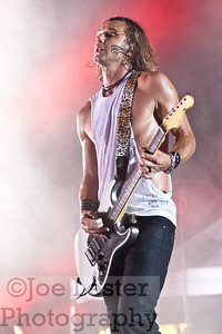 Gavin Rossdale - BUSH - Fresno, Ca. 2012 *ALL ACCESS*
