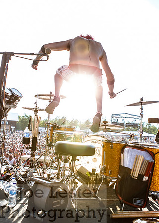 Arejay Hale/HALESTORM at Moondance Jam 2013 *ALL ACCESS*