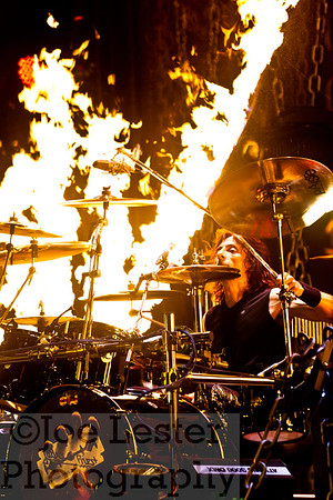 Scott Travis - Judas Priest - Epitaph World Tour, Porsche Arena, Stuttgart, Germany *ALL ACCESS*