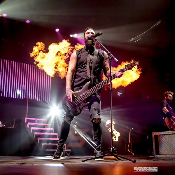 John Cooper - Skillet at LU Winterfest 12-31-18 by Annette Holloway Photography