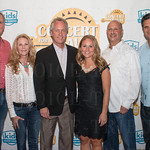 Breck and Rhonda Jones, Mayor Greg Fischer, Shelby Russell, Jon Dubins and Greg Gitschier.