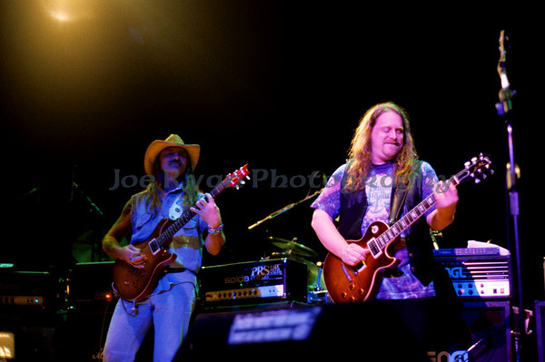 Dickey Betts & Warren Haynes<br /> Allman Brothers Band<br /> Mann Music Center, Philadelphia<br /> August 28, 1994