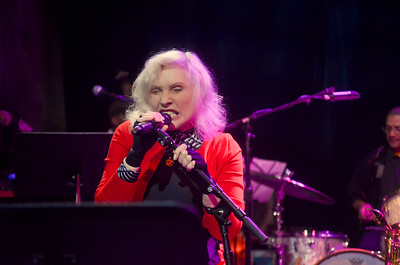 Debbie Harry with the Jazz Passengers