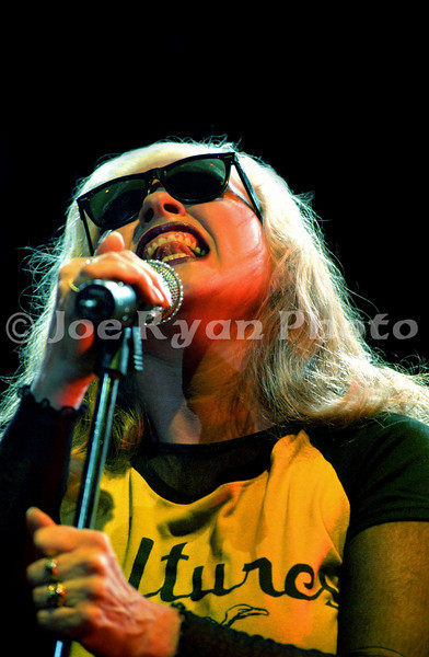 Debbie Harry of Blondie<br /> The Theatre at Madison Square Garden<br /> June 10, 1999