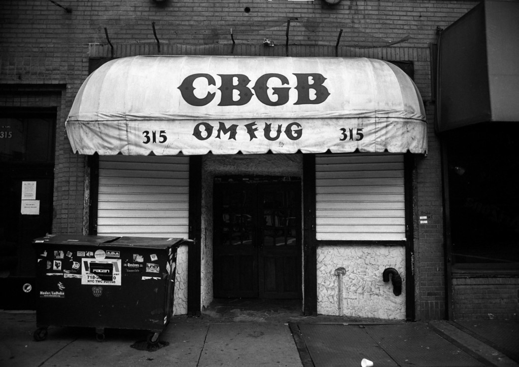 CBGB's<br /> 315 Bowery<br /> New York, NY