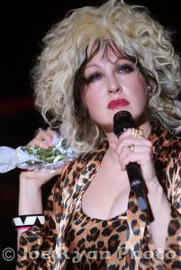 Cyndi Lauper Keswick Theatre, Glenside, Pennsylvania July 30, 2010