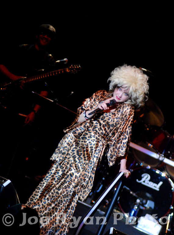 Cyndi Lauper<br /> Keswick Theatre, Glenside, Pennsylvania<br /> July 30, 2010