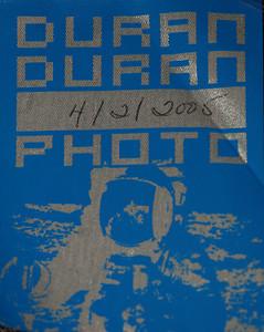 Duran Duran photo pass