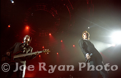 John Taylor & Simon LeBon of Duran Duran Philadelphia Spectrum April 2, 2005
