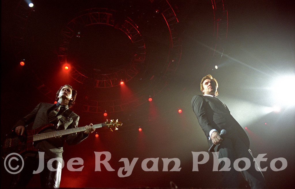 John Taylor & Simon LeBon of Duran Duran<br /> Philadelphia Spectrum<br /> April 2, 2005