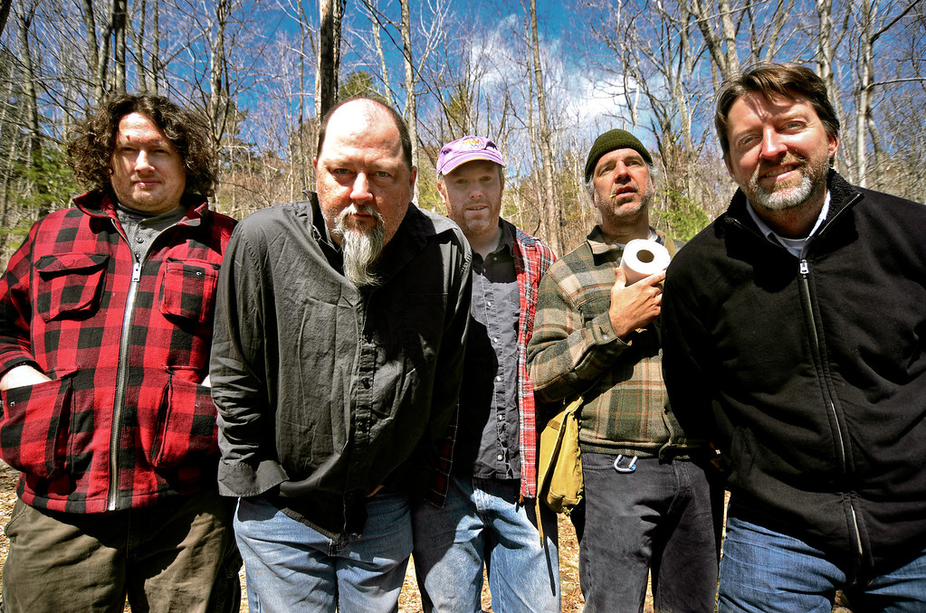 "The Gourds in Woodstock, NY <br /> Official promo photo & Insert photo to the album, ""OLD MAD JOY""<br /> March 26, 2011"