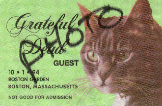 My Boston 1994 photo pass