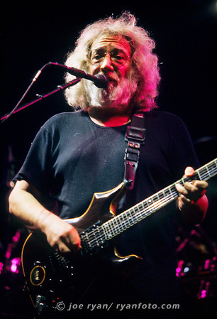 "Jerry Garcia of the Grateful Dead  ""Help on the way"" Boston Garden October 1, 1994"