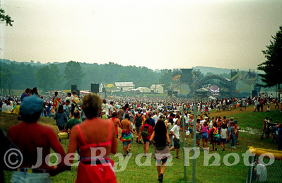 Grateful Dead concert Buckeye Lake, OH July 29, 1994