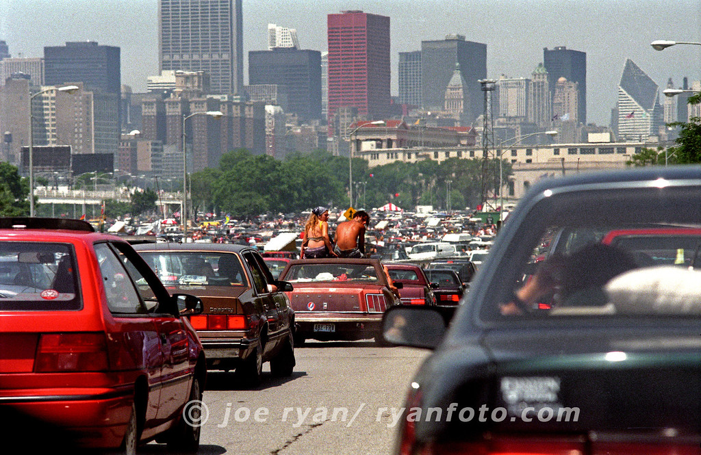 Grateful Dead concert<br /> Going to Soldier Field<br /> July 8, 1995