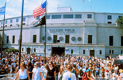 Grateful Dead concert Soldier Field, Chicago July 8, 1995