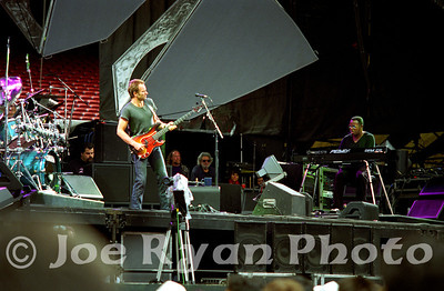 Sting opens for the Grateful Dead Giants Stadium June 6, 1993 (note: Jerry Garcia watches the show from backstage)