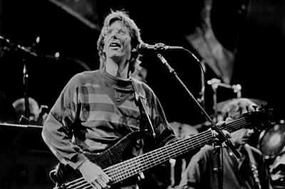 "Phil Lesh during ""Broken Arrow"""