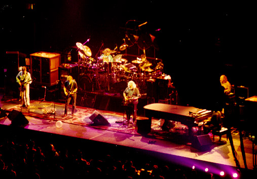 Grateful Dead stage on March 17, 1992